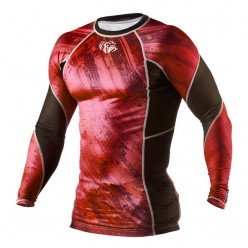 Рашгард Peresvit Immortal Silver Force Rashguard Long Sleeve Red Burn