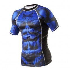 Рашгард Peresvit Beast Silver Force Rashguard Short Sleeve Blue