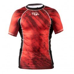 Рашгард Peresvit Immortal Silver Force Rashguard Short Sleeve Red Burn