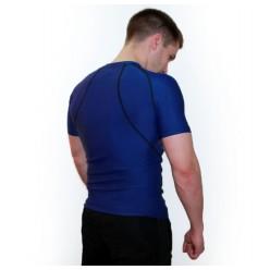 Рашгард ARTIX Dry-Fit Blue с коротким рукавом