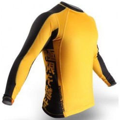 РАШГАРД PUNCHTOWN ODE TO DRAGON RASH GUARD LONG SLEEVE