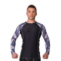 Рашгард с длинным рукавом для ММА CAMO black Berserk-sport