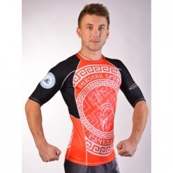 Рашгард for pankration BERSERK APPROWED WPC red
