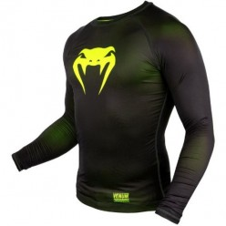 Рашгард Venum Contender 3.0 Black\Yellow