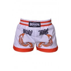 Шорты Berserk-sport  Muay Thai Fighter white