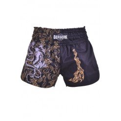 Шорты Berserk-sport Muay Thai Fighter black