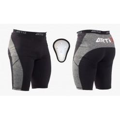 Компрессионные шорты с ракушкой ARTIX Fit Melange