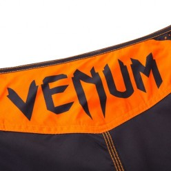 Шорты Venum Hurricane Fight Shorts Black/Neo Orange
