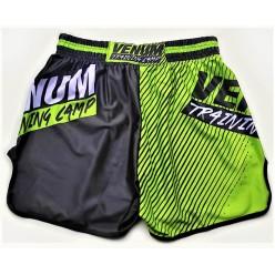 Шорты Venum Training Camp Muai Thai Shorts Black Neo Yellow