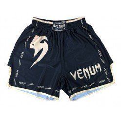 Шорты Venum Muai Thai Black-Gold
