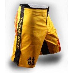 Шорты для ММА Punchtown Ode to Dragon Shorts yellow