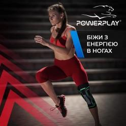 Наколінники спортивні PowerPlay 4099 Черні L/XL (пара)