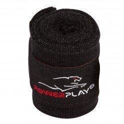 Бинти для боксу PowerPlay 3046 Чорні (3м)