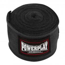 Бинти для боксу PowerPlay 3046 Чорні (2.5 м)