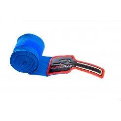 Бинти для боксу PowerPlay 3046 Сині (4м)
