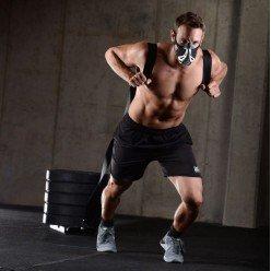 Тренировочная маска Phantom Training Mask Silver