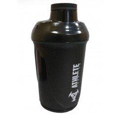 Шейкер спортивний ShakerStore Wave + з 2-ма контейнерами Чорний