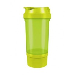 Шейкер спортивный Shake360 500 мл. с контейнером Green