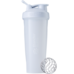 Спортивный шейкер BlenderBottle Classic Loop 940ml White (ORIGINAL)