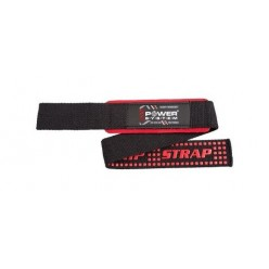 Лямки для тяги Power System XTR-Grip Straps PS-3430 Black/Red