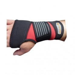 Кистевый бинт Power System Neo Wrist Support PS-6010 Black/Red