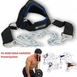 Тяга для шеи Power System Head Harness PS-4039 Black/Blue