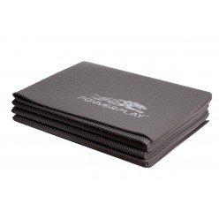 Килимок для фітнесу і йоги складний PowerPlay 4012 (173*61*0.4) Сірий