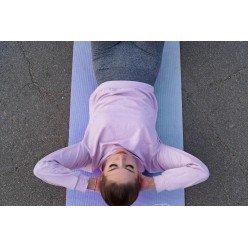 Коврик для йоги и фитнеса PowerPlay 4010(173*61*0,6) голубий