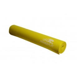 Килимок для фітнесу і йоги PowerPlay 4011 (173* 61*0.8) Жовтий