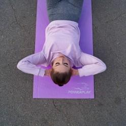 Килимок для фітнесу і йоги PowerPlay 4010 (183*61*0.6) Фіолетовий