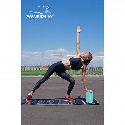 Блок для йоги PowerPlay 4006 Yoga Brick М'яка ятний