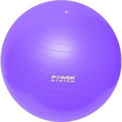 Мяч для фитнеса и гимнастики Power System PS-4012 65 cm Purple