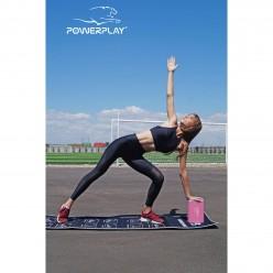 Блок для йоги PowerPlay 4006 Yoga Brick Ліловий
