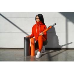 Йога ролер набір 3 в 1 PowerPlay 4022 Чорно-Оранжевий