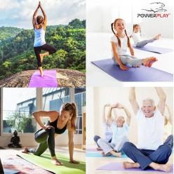 Килимок для йоги та фітнесу PowerPlay 4010 (173*61*0.6) Black