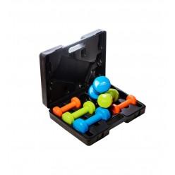 Набір гантелей в кейсі 12 кг. PowerPlay 4118