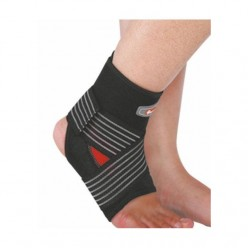 Спортивный бандаж на голеностоп Power System Neo Knee Support PS-6013 Black/Red M
