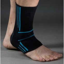Спортивные бандажи на голеностоп Power System Ankle Support Evo PS-6022 Black/Blue M