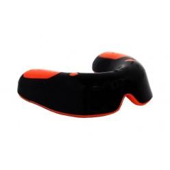 Капа боксерська PowerPlay 3315 SR Оранжево-Чорна MINT