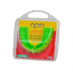 Капа OPRO Junior Snap-Fit Neon Green (art.002143003)