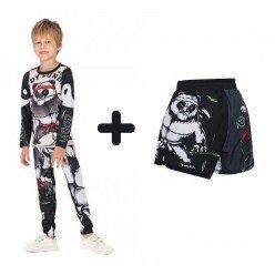 Комплект 2в1 компрессионный детский Cody Lundin Panda