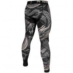 Компрессионные штаны Venum Dragon's Flight Black/Sand