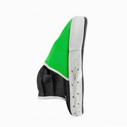 Лапи боксерські PowerPlay 3073 чорно-зелені PU [пара]