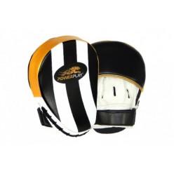Боксерські Лапи PowerPlay 3041 Золоті PU [пара]