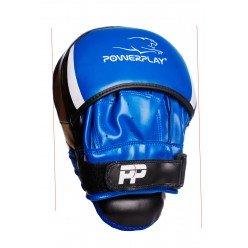 Боксерські Лапи PowerPlay 3050 Чорно-Сині PU [пара]