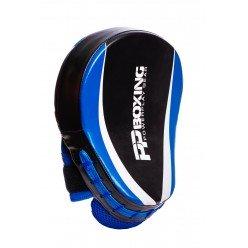 Лапи боксерські PowerPlay 3050 Чорно-Сині PU [пара]