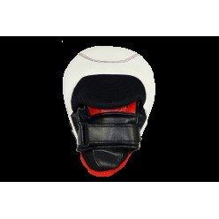 Боксерські Лапи PowerPlay 3042 Чорно-Білі PU [пара]