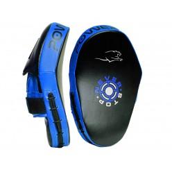 Боксерські Лапи PowerPlay 3051 Чорно-Сині PU [пара]