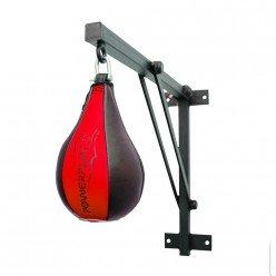 Пневмогруша боксерська PowerPlay 3061 Чорно-Червона S