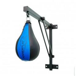 Пневмогруша боксерська PowerPlay 3061 Чорно-Синя S